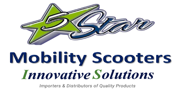 5 Star Mobility Scooters Logo